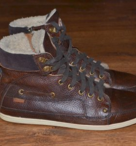 мужские ботинки кожа