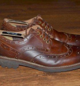 мужские туфли Clarks 46размер
