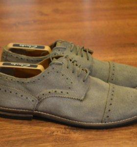 мужские туфли TopMan замша