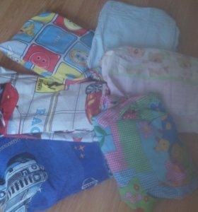 Постельные комплекты в детскую кроватку