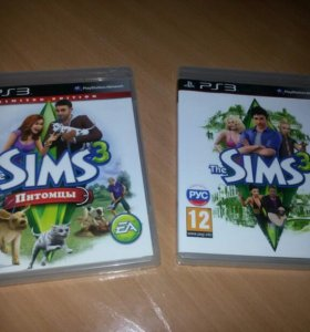 PS 3 The Sims 3 . rus