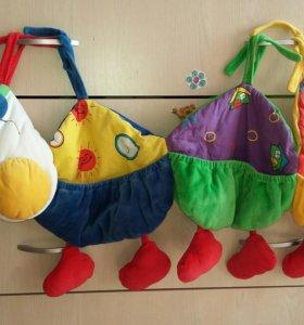 Подвесные кармашки для игрушек