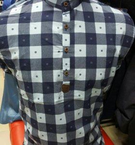 Мужские рубашки, полуверы