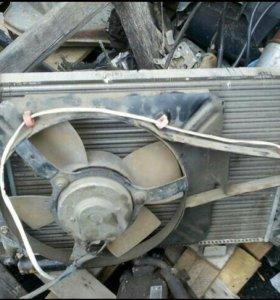 Радиатор + электровентилятор