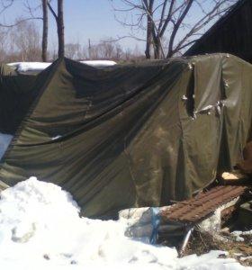 Военная палатка
