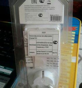 Электронный таймер для вкл./выкл. электр. приборов