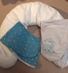 Ортопедическая подушка для беременных и кормления