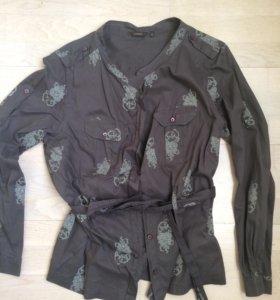 Блузка рубашка женская 48-50