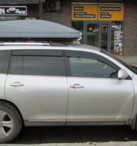 Автобокс Thule touring 780 серый Аренда/Продажа
