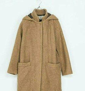Пальто (дафлкот) Zara trafaluc camel coat .