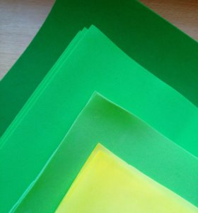 Фоамиран тонкий 12 листов, 50*48,52*52 см