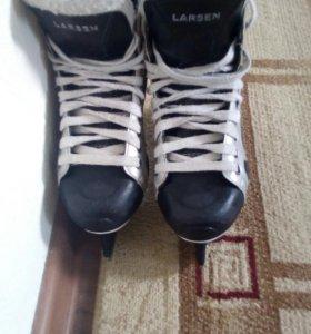 Хокейные коньки 38 размер