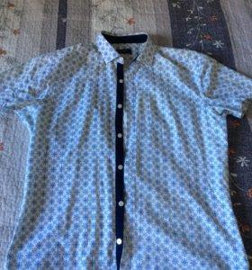 Рубашка приталенная мужская