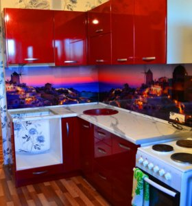 Кухня Пурпур металлик