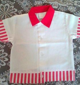 Рубашка 6-12мес.
