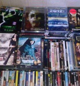 Домашняя коллекция DVD-фильмов