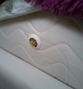Кровать новая с матрасом.