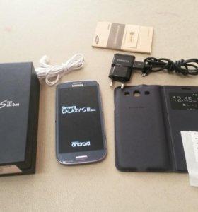 S3 duos GT-i9300i 16gb отличное состояние