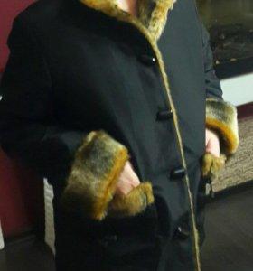 Двухсторонняя куртка-шубка