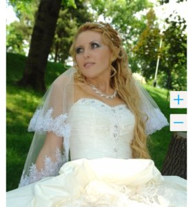 Свадебное пышное платье