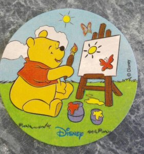 Вафельная съедобная открытка