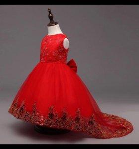 Красивое платье на маленькую принцессу на заказ