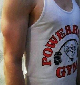 """Легендарная майка """"Powerhouse Gym"""""""