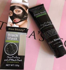 Чёрная маска от точек