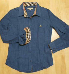 Рубашка новая, Burberry. Размер 40-42. Хлопок.