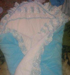 Одеяло и конверт на выписку