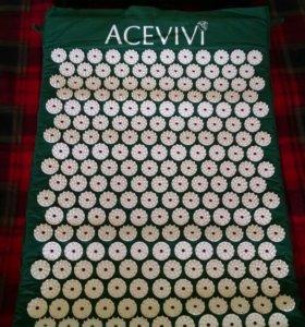 Массажный коврик аппликатор и подушка, комплект