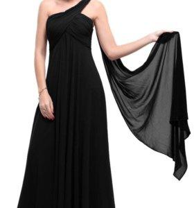 Новое платье, натуральный шифон