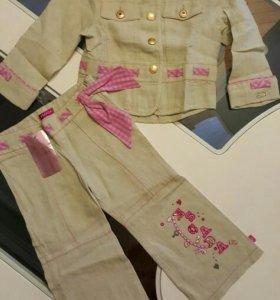 Шикарный костюмчик на девочку Escada, оригинал!