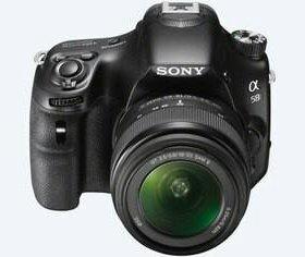 Зеркальная фотокамера Sony Alpha SLT-A58