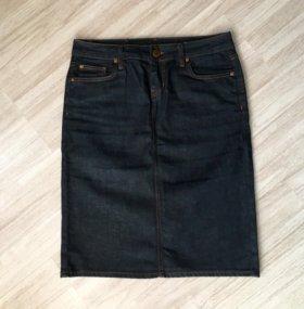 Zara новая джинсовая юбка