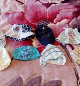Шапки,шарфы,варежки,кепки на мальчика