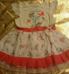Очень красивое и нежное платье в винтажном стиле