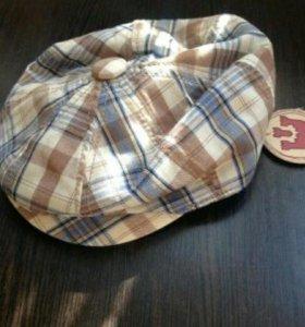 Стильная кепка для мальчика, новая 52см