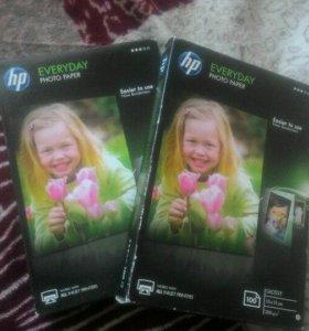 Фото бумага Everyday HP