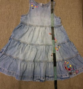 Платье джинсовое HM размер 104
