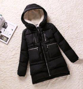 Парка куртка зимняя (демисезонная) новая
