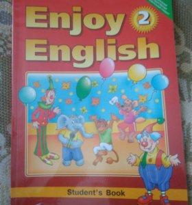 Учебник английский язык 2 класс Биболетова