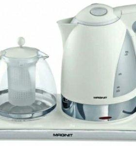 Новый электрочайник + заварочный чайник