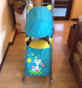Санки-коляска Ника Детям