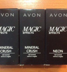 Avon лак MAGIC Effects