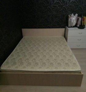 Кровать 140*200 двуспальная