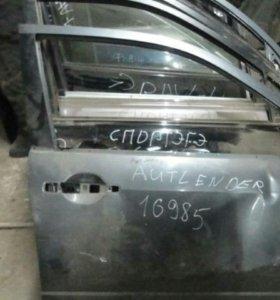 Дверь передняя правая митсубиси оутлендер 1