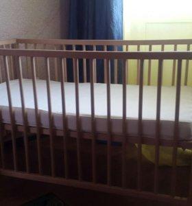 Детская кроватка Гулливер (Икея/Ikea)