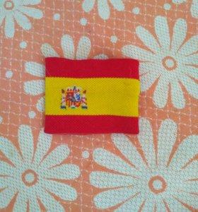 Напульсник сборной Испании