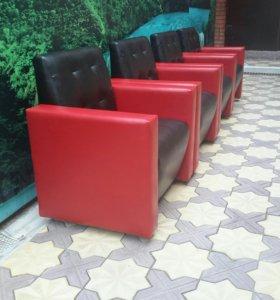 Кресло Blek-Red для офиса кафе бара част.интерьера
